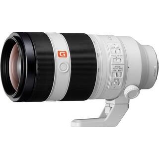 Sony Alpha FE 100-400mm F4.5-5.6 GM Super Telephoto Zoom Lens - White