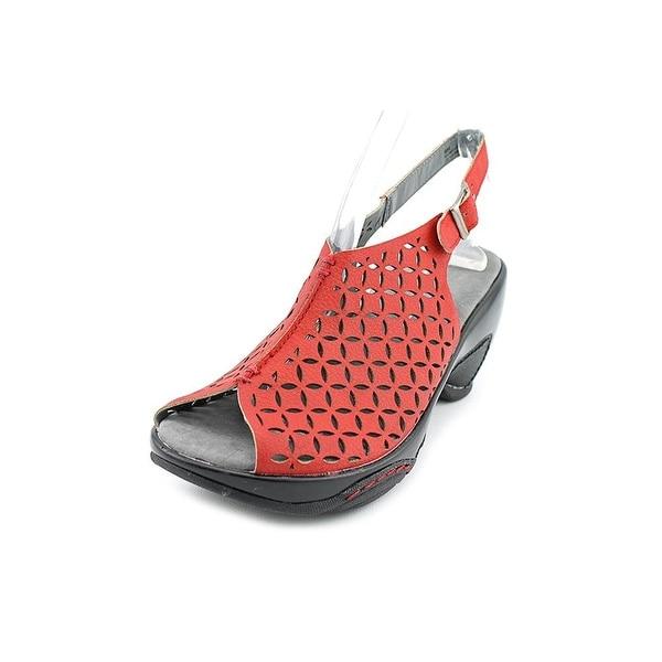 Jambu Monique Womens Leather Slingback Sandals Shoes - 11