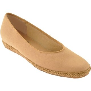 Beacon Shoes Women's Phoenix Sand Canvas