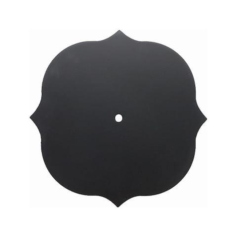 30020623 darice clock face chalkboard fancy bracket