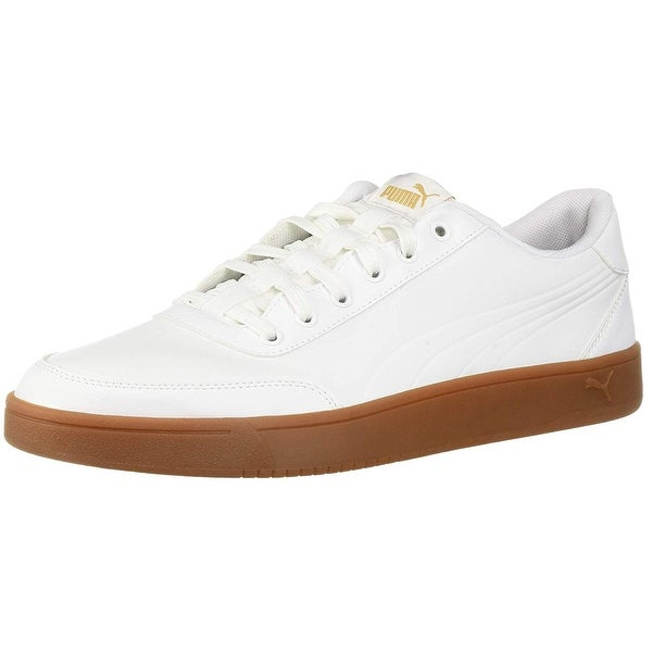Shop PUMA Men s Court Breaker L Mono Sneaker - Free Shipping Today ... 2769167ea