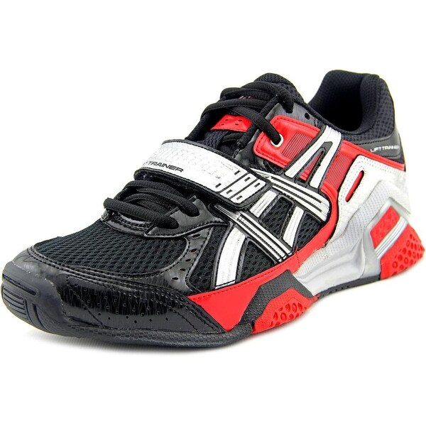 Asics Lift Trainer Men Black/Silver/Red Cross Training Shoes
