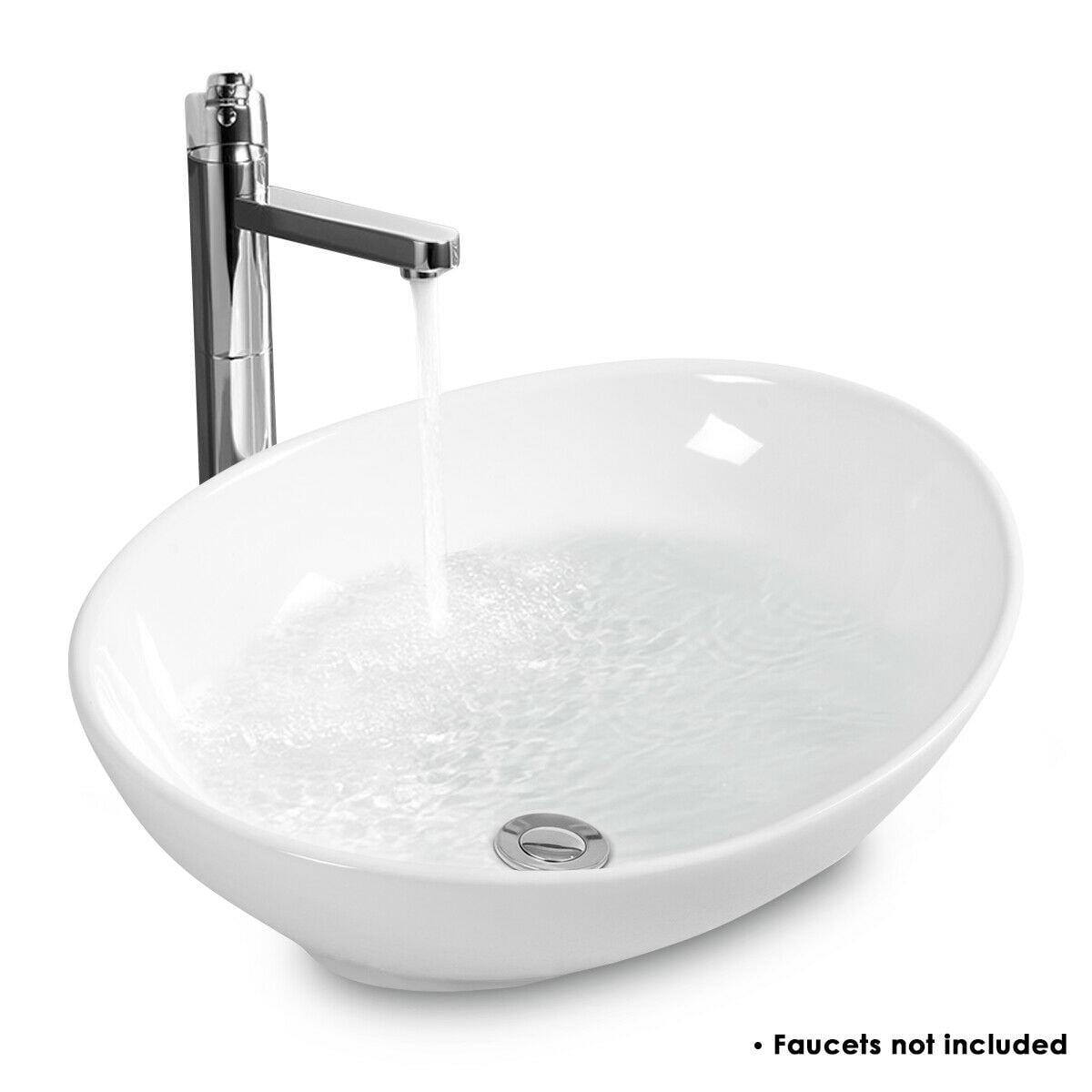 Ceramic Vessel Sink Bowl Vanity