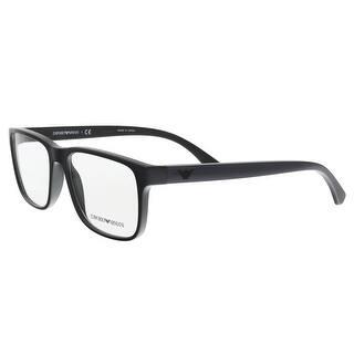 emporio armani ea3103 5017 blacknavy square optical frames 55 17 145 - Emporio Armani Glasses Frames