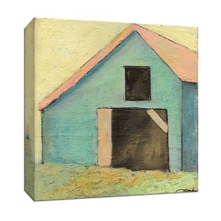 """PTM Images 9-146895  PTM Canvas Collection 12"""" x 12"""" - """"Barn VI"""" Giclee Country Buildings Art Print on Canvas"""