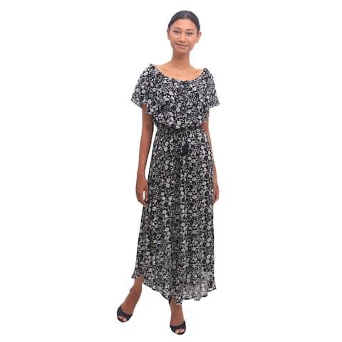 NOVICA Boho Bali Rayon dress