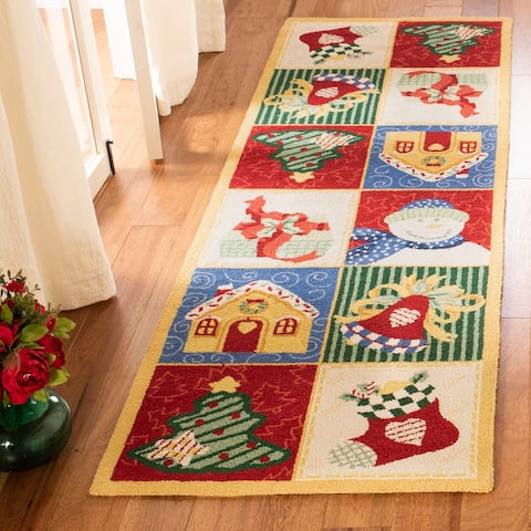 Safavieh Holiday Hand-hooked Chelsea Asha Novelty Wool Rug