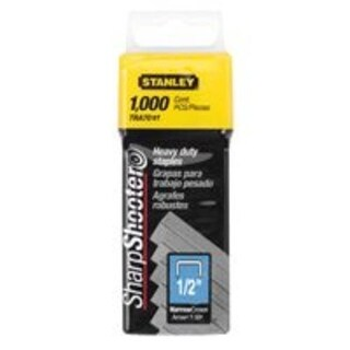 "Stanley TRA708T Heavy Duty Staple 1/2"", 1000/Pack"