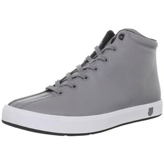 K-Swiss Mens Clean Classic High Top Athletic Fashion Sneakers - 9 medium (d)