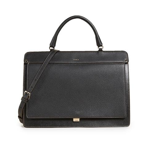 Furla Womens Black Like S Top Handle Handbag