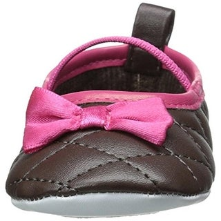 Luvable Friends Infant Slip On Mary Janes - 12-18 mo