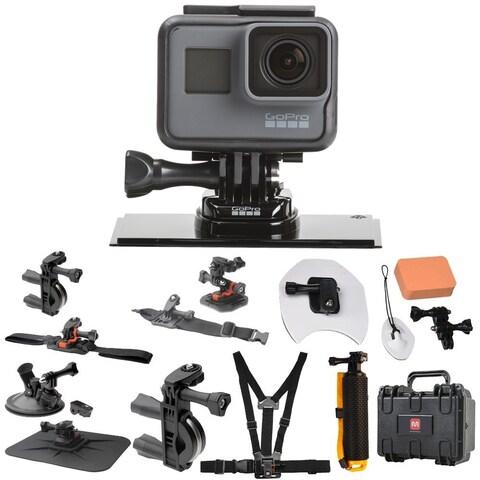 GoPro Hero 5 Black (CHDHX-501) All In One Hard Case Pro Action Kit