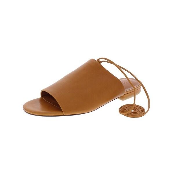 Vince Womens Damon Slide Sandals Open Toe
