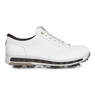 Ecco Mens Golf White/Black Cool GTX 45 Euro 11-11.5 US Golf Shoes