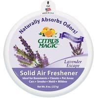 Citrus Magic 616472347 Solid Air Freshener, Lavender Escape, 8Oz