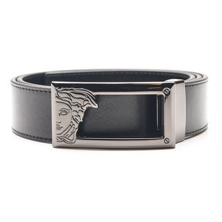 Hooey Western Mens Belt Leather Logo Cutout Tapered Tip Embossed 1787BE4
