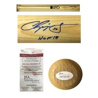 9d1054c7adc Chipper Jones Autographed Atlanta Braves Hall of Fame HOF 2018 Signed  Baseball Bat JSA COA