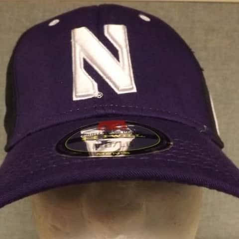Northwestern Wildcats Mens Adult Sizes M/L-L/XL Under Armour Cap Hat 29