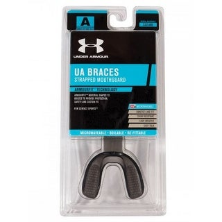 Under Armour ArmourBraces Mouthguard Strapped Bite Tech Adult/Youth R-1-1254