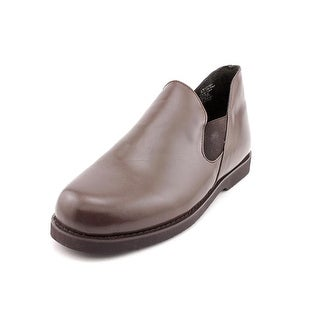 Slippers International Romeo Men 4E Round Toe Leather Brown Loafer