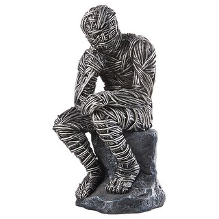 Design Toscano Enslavement to Knowledge: The Thinker Statue
