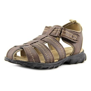 Carter's JupiterC Youth Round Toe Synthetic Brown Sport Sandal