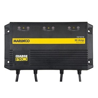 Marinco On-Board Battery Charger-30A-3-Bank-120V - 28330