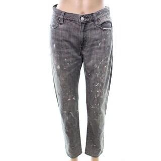 Polo Ralph Lauren NEW Womens 30X28 Paint Splatter Boyfriend Slim Jeans