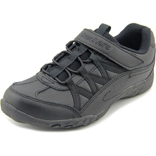 Skechers Breathe-Easy Fab Phonics Round Toe Leather Sneakers
