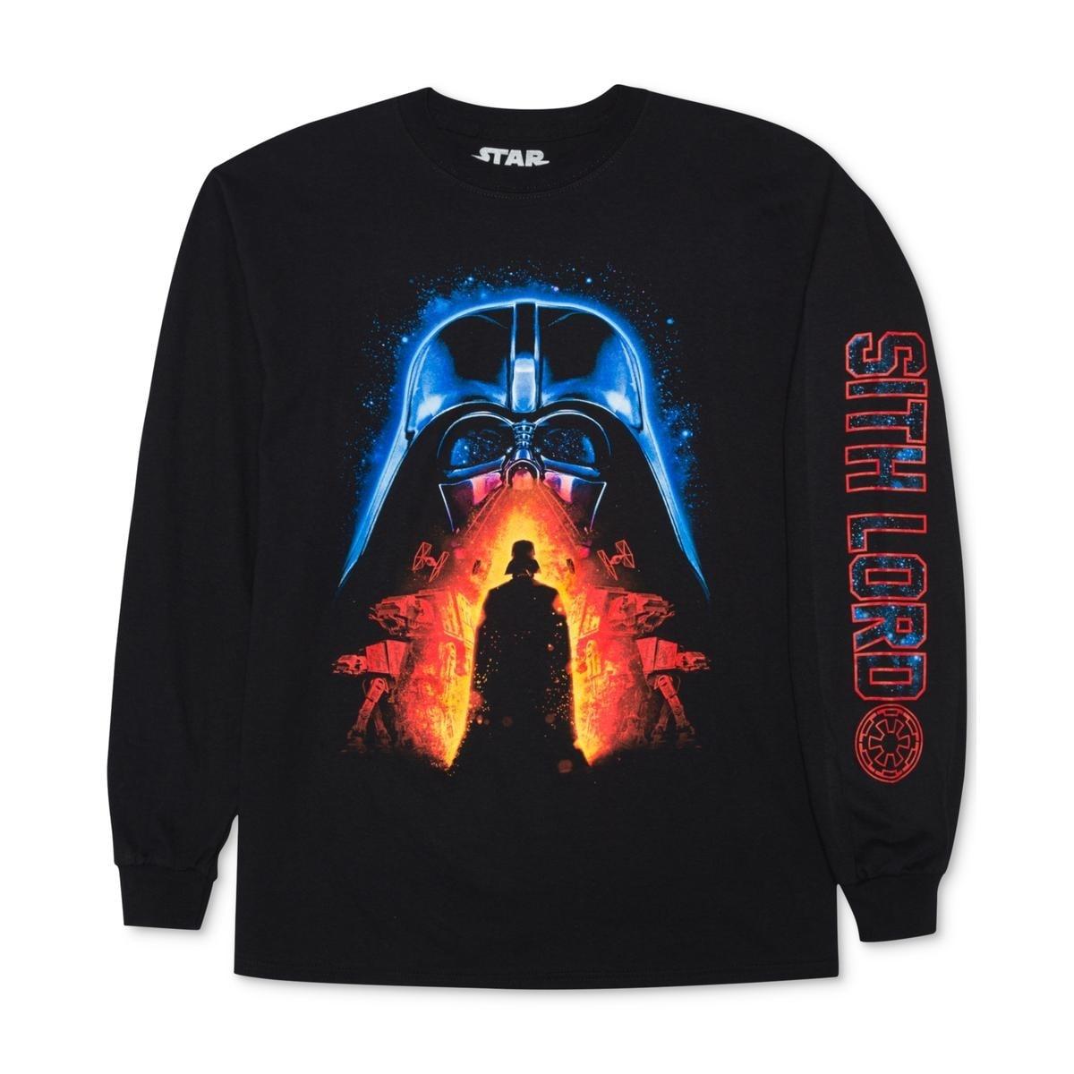 Star Wars Mens Dark Lord Darth Vader Graphic T-Shirt