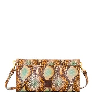 Dooney & Bourke City Python Crossbody Clutch (Introduced by Dooney & Bourke at $198 in Sep 2016) - Green|https://ak1.ostkcdn.com/images/products/is/images/direct/a1aa2dd15fc15325e94feaaf8d50e2a3972bb163/Dooney-%26-Bourke-City-Python-Crossbody-Clutch-%28Introduced-by-Dooney-%26-Bourke-at-%24198-in-Sep-2016%29.jpg?impolicy=medium