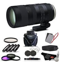 Tamron SP 70-200mm f/2.8 Di VC USD G2 Lens for Canon EF International Version (No Warranty) Advanced Kit - black