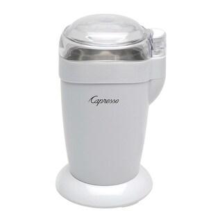 Capresso 504.02 Coffee And Spice Grinder, Plastic, White