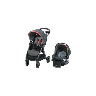 Graco FastAction DLX Travel System - Solar Travel System