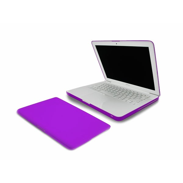 Incipio Feather Ultralight Hard Shell Case for MacBook 13-inch White Unibody - P