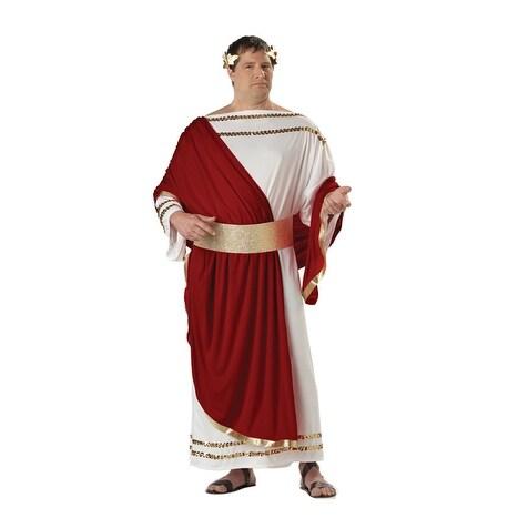 California Costumes Plus Size Ceasar Costume - white/red - plus (48-58)