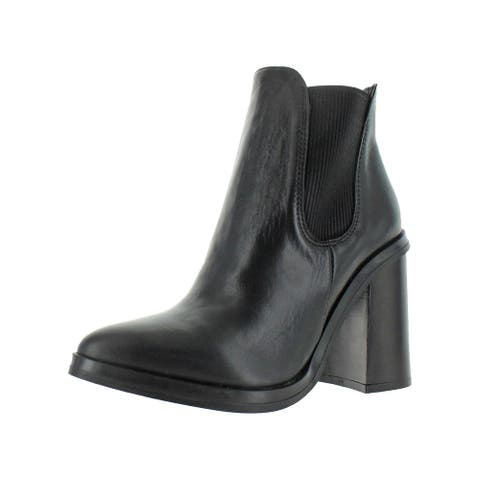 Charles David Womens Scandal 2 Ankle Boots Leather Booties
