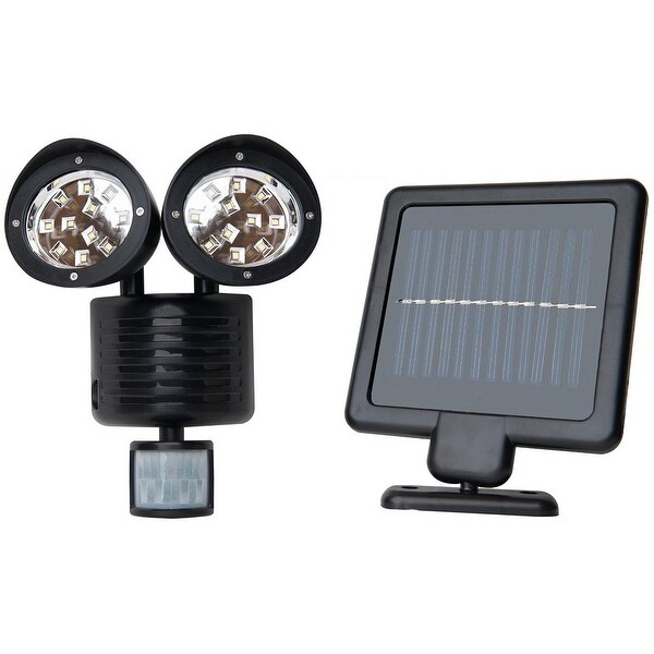 Outdoor Flood Lights Wont Turn Off: Shop KANSTAR Outdoor Solar 22 SMD Motion Sensor Security