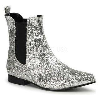 Funtasma Men's Chelsea 58G Silver Glitter