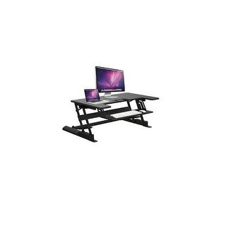 Ematic - Emt2310 - Stand And Sit Desktop Riser