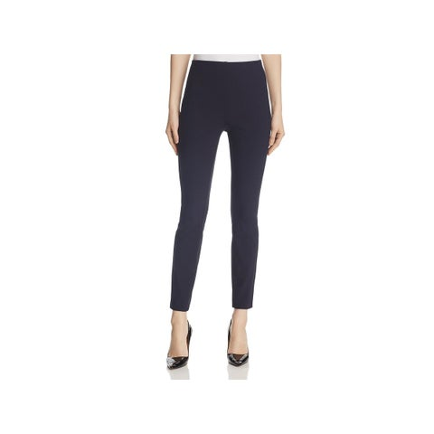 Theory Womens Trouser Pants Back Zipper High Rise