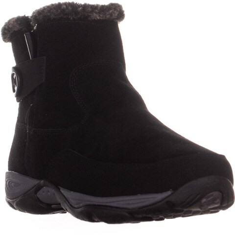 Easy Spirit Excel8 High Ankle Winter Boots, Black