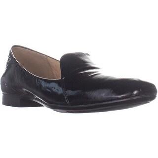 naturalizer Emiline Classic Slip On Loafers, Black Patent - 12 W US