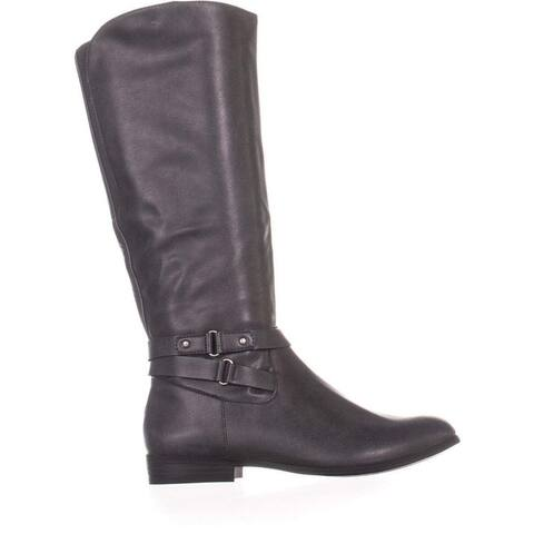 Style & Co. Womens Kindell Almond Toe Knee High Platform Boots