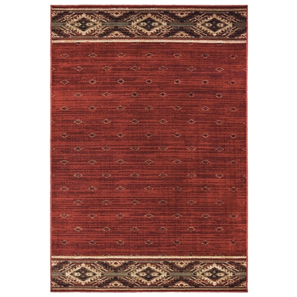 Westley Tribal Border Lodge Style Area Rug. Opens flyout.