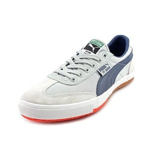 Puma TT Super CC Round Toe Leather Sneakers