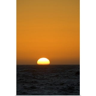 """Sunset Over Pacific Ocean"" Poster Print"