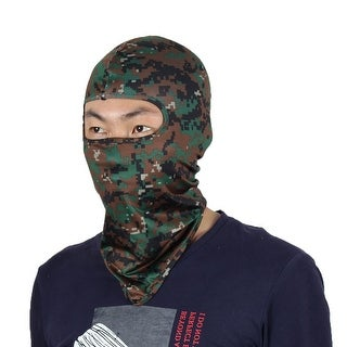 Full Coverage Face Mask Gel Padded Neck Protector Beanie Hood Helmet Balaclava