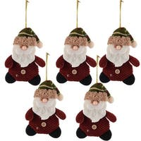 Christmas Xmas Tree Hanging Santa Claus Decoration Multicolor 5pcs