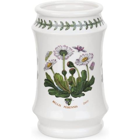 Portmeirion Botanic Garden Utensil Jar (Daisy) - 6.5 Inch